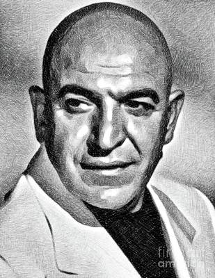 Advertising Archives - Telly Savalas, Vintage Actor by JS by Esoterica Art Agency