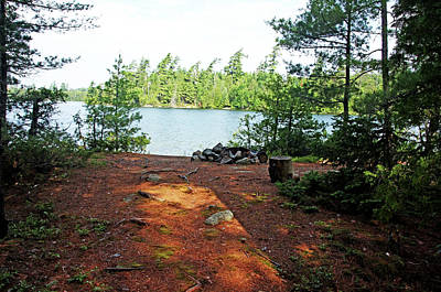 Photograph - Temagami Island Campsite I by Debbie Oppermann