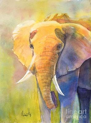 Mohamed Painting - Tembo by Mohamed Hirji