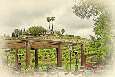 Photograph - Temecula Valley - Southern California Wine Country by Gabriele Pomykaj