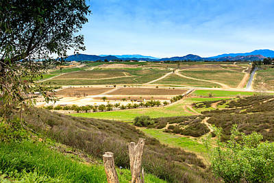 Photograph - Temecula Wine Country by Ben Graham