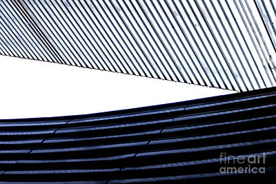 Digital Art - Tempe Art Center Roofline by Georgianne Giese