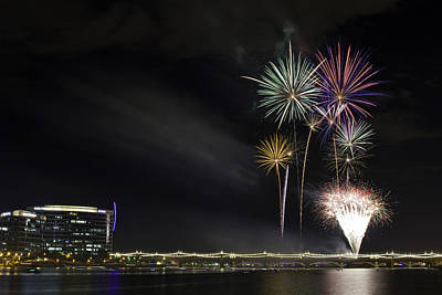 Photograph - Tempe Fireworks 2015-3 by Paul Riedinger