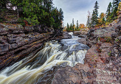 Photograph - Temperance River State Park by Wayne Moran