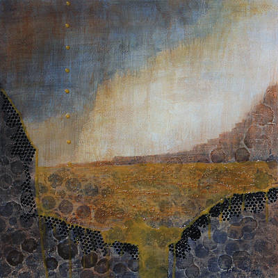 Floods Mixed Media - Tempestuous by Patricia Pasbrig