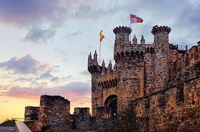 Photograph - Templar Castle by Fabrizio Troiani