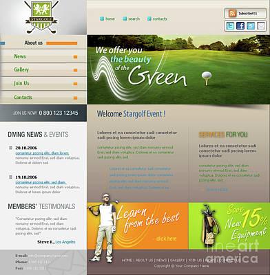 Template Golf Original by Payet Alexandre