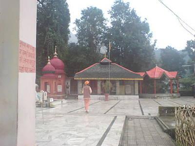 Ashram Wall Art - Photograph - Temple And Ashram Image by Lalitmohan Khungar