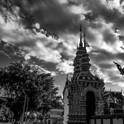 Photograph - Temple At Dusk by Depdc