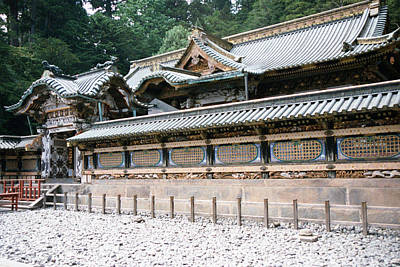 Photograph - Temple At Nikko by Dianne Levy