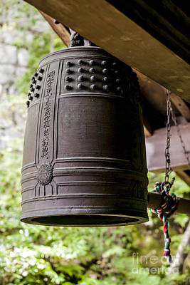 Photograph - Temple Bell by Ben Johnson