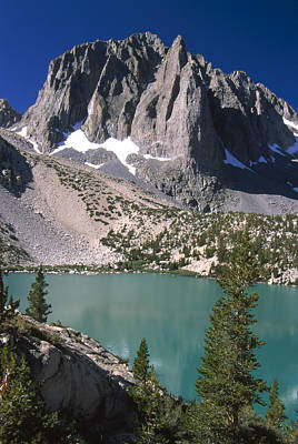 Temple Crag And Second Lake Art Print by Soli Deo Gloria Wilderness And Wildlife Photography