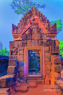Photograph - Temple Door Sunset by Rick Bragan