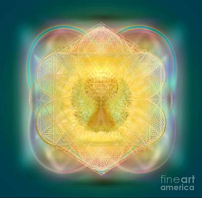 Digital Art - Temple Fire Chalice by Christopher Pringer