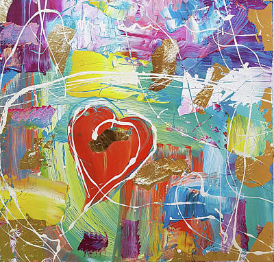Painting - Temple Heart by Martin Bush