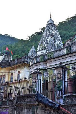 Photograph - Temple In Rishikesh by Kim Bemis