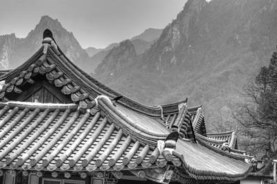 Photograph - Temple In Sokcho  by Bill Hamilton