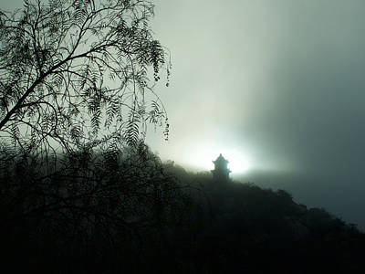 Photograph - Temple In The Mist by VB Medley