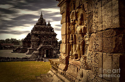 Photograph - Temple In Yogyakarta by Charuhas Images