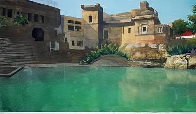 Raj Mixed Media - Temple by Maryam Irshad