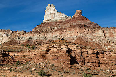 Photograph - Temple Mountain by Kathleen Bishop
