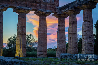 Ruin Photograph - Temple Of Athena Columns by Inge Johnsson