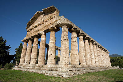Tina Turner - Temple of Athena in Paestum by Aivar Mikko