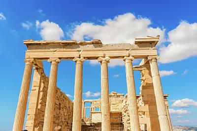 Photograph - Temple Of Athena Nike In Greece by Marek Poplawski
