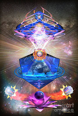 Shakti Digital Art - Temple Of Awakening by Arcane Paradigm