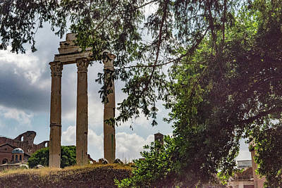 Photograph - Temple Of Castor And Pollux by Joseph Yarbrough