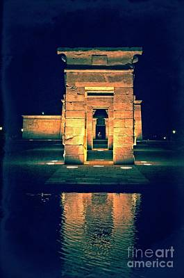 Photograph - Temple Of Debod - Madrid by Mary Machare