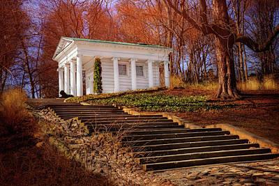 Of Autumn Photograph - Temple Of Diana Lazienki Park Warsaw  by Carol Japp