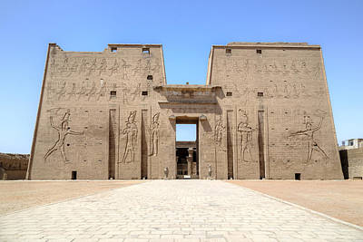 Islam Photograph - Temple Of Edfu - Egypt by Joana Kruse