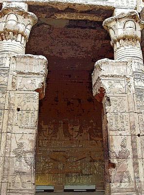 Photograph - Temple Of Edfu I by Debbie Oppermann