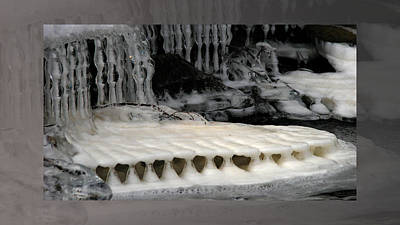 Periodicity Photograph - Temple Of Foam by Doug Bratten