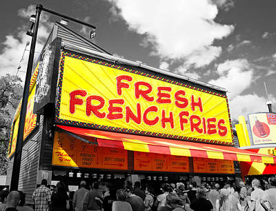 Fries Photograph - Temple Of Fries by Jim Hughes