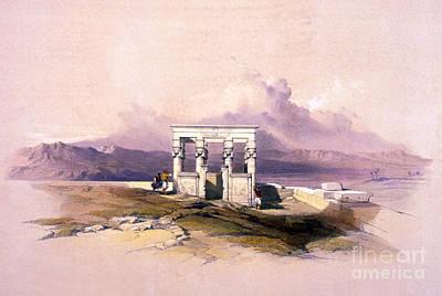Temple Of Hathor, 1930s Art Print