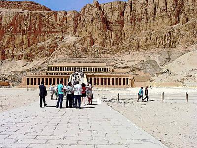 Photograph - Temple Of Hatshepsut I by Debbie Oppermann