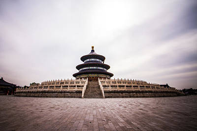 Photograph - Temple of Heaven by DLP Squared Photography