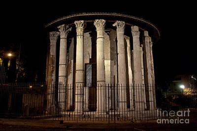 Photograph - Temple Of Hercules I by Fabrizio Ruggeri