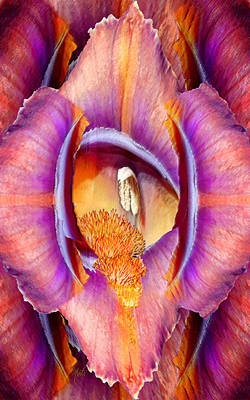 Photograph - Temple Of Iris - Floral Abstract by Michele Avanti