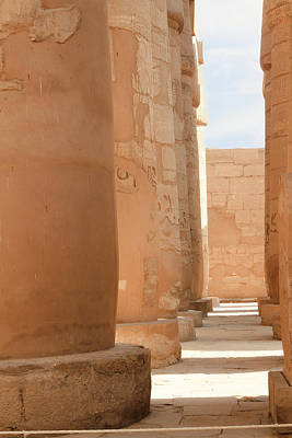 Photograph - Temple Of Karnak by Silvia Bruno