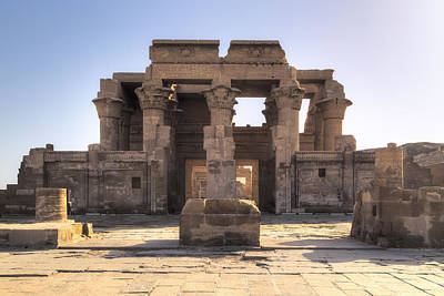 Ers Photograph - Temple Of Kom Ombo - Egypt by Joana Kruse