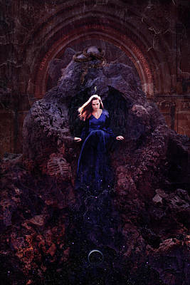 Dark Magic Digital Art - Temple Of Lilith by Cambion Art