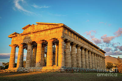 Photograph - Temple Of Neptune by Inge Johnsson