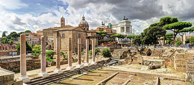 Photograph - Temple Of Peace Rome by Weston Westmoreland