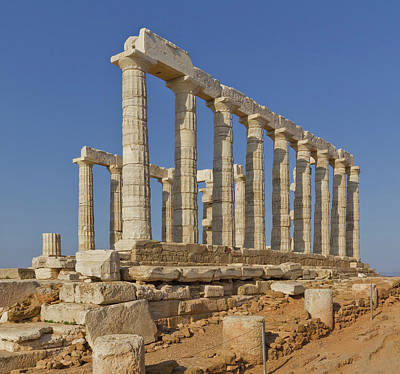 Photograph - Temple Of Poseidon by Ellen Henneke