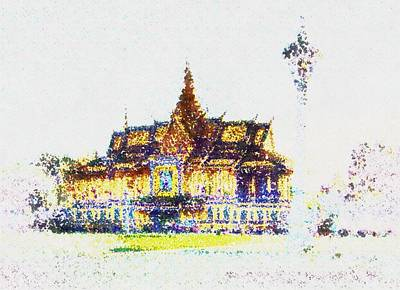 Temple Of The Buddha Art Print