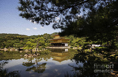 Photograph - Temple Of The Golden Pavilion by David Bearden