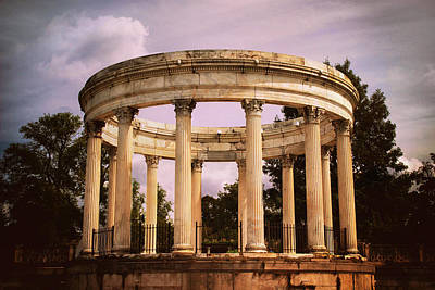 Corinthians Photograph - Temple Of The Sky Amphitheater by Jessica Jenney